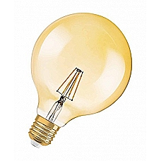 Filament Globe, Ball, 4W, E27, Vintage (Golden gloss)