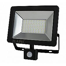 Floodlight, 50W Slim SMD LED with PIR Motion Sensor