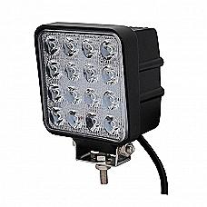 48W LED Work Light - Square
