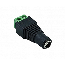 Power Connector, 2.1mm Male and Female Jack