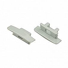 Aluminium Channeling End Caps