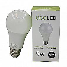 ecoLED LED Bulb, A60 - 9W